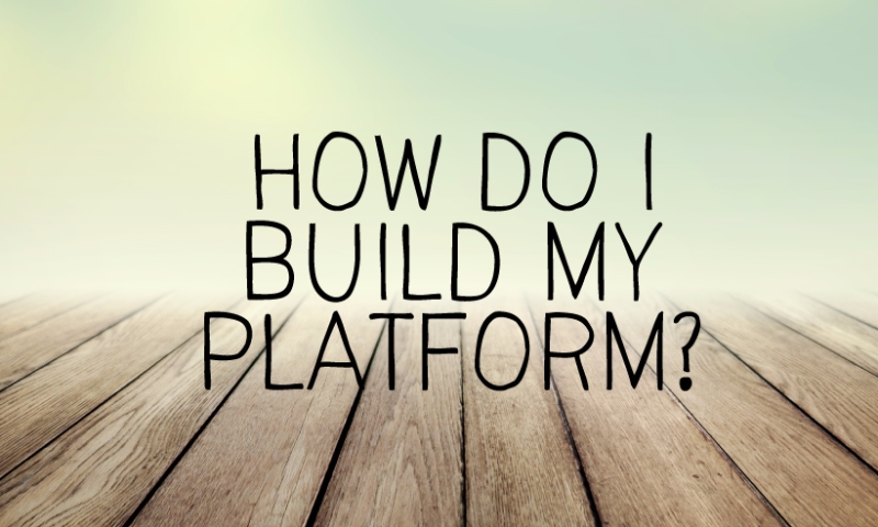 Building Your Platform As An Expat Thespian (1st of 3-Part Series)